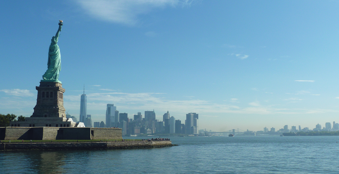 Brooklyn Bridge - Lower Manhattan - Ellis Island